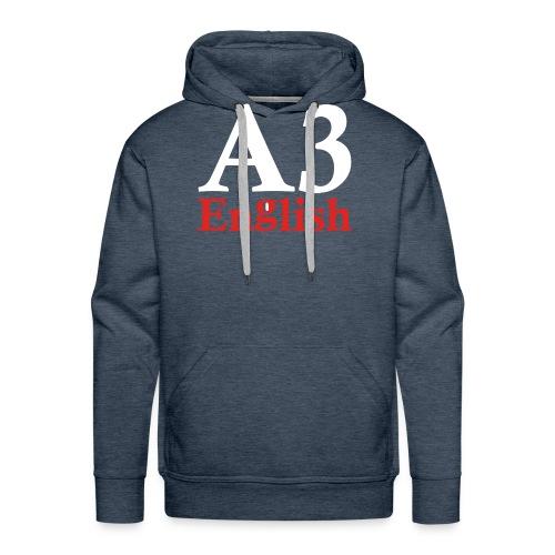 A3Small logo 2 - Men's Premium Hoodie