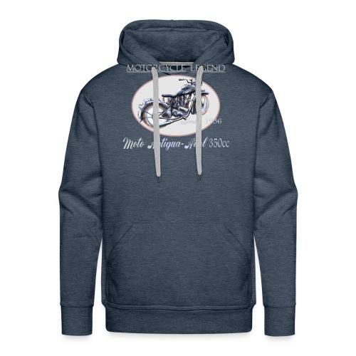 moto antigua - Sweat-shirt à capuche Premium pour hommes
