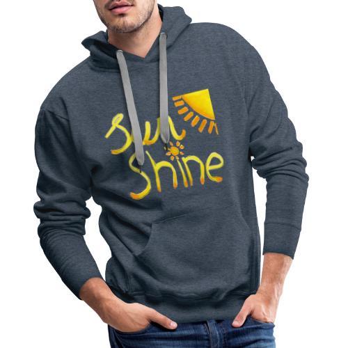 Sunshine - Mannen Premium hoodie