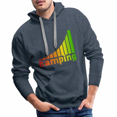 energietankstelle camping - Männer Premium Hoodie
