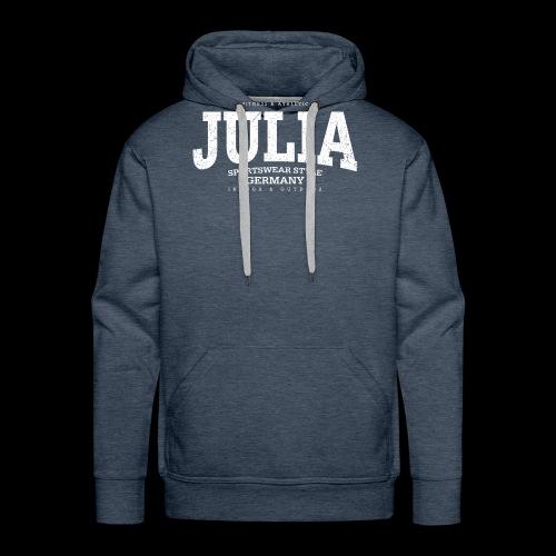 Julia (white oldstyle) - Männer Premium Hoodie