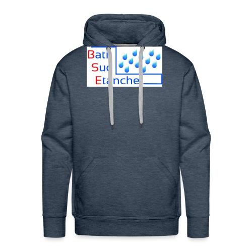 bati sud etanche logo Copie - Sweat-shirt à capuche Premium pour hommes