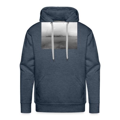 nebbia - Felpa con cappuccio premium da uomo
