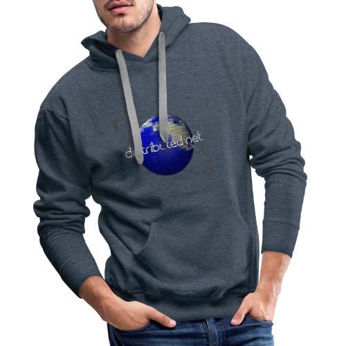 full logo border - Men's Premium Hoodie