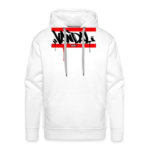 #EASY Graffiti Vandal T-Shirt - Felpa con cappuccio premium da uomo