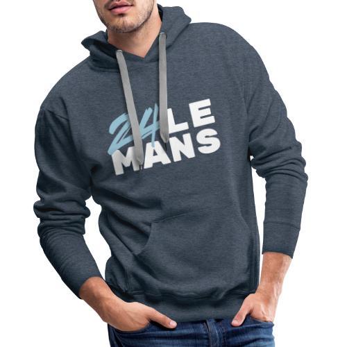 24h Le Mans (bleu) - Männer Premium Hoodie