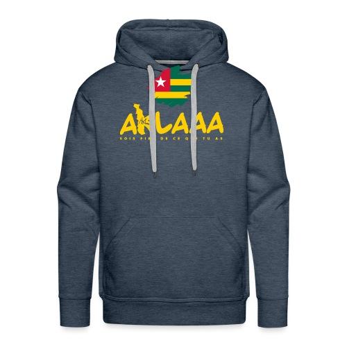 Aklaaa - Togo - Jaune - Sweat-shirt à capuche Premium pour hommes