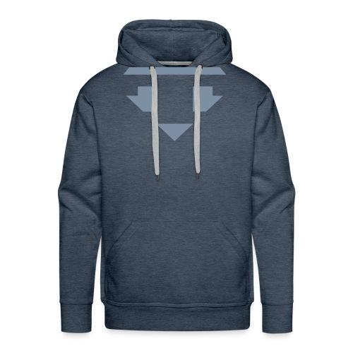 Twanneman logo Reverse - Mannen Premium hoodie