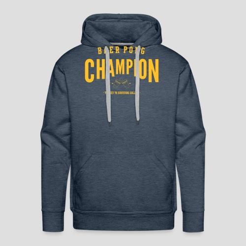 Beerpong Champion T-Shirt - Männer Premium Hoodie