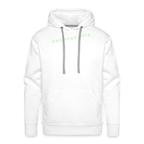 only_sad - Men's Premium Hoodie