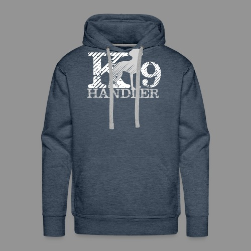 K-9 Handler - German Shorthaired Pointer - Men's Premium Hoodie
