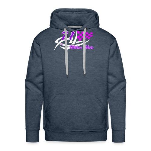 Logo Milou transparant donkere kleding - Mannen Premium hoodie