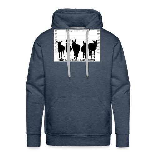 The unusual suspects - Men's Premium Hoodie