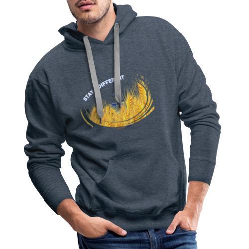stay different - Sweat-shirt à capuche Premium pour hommes