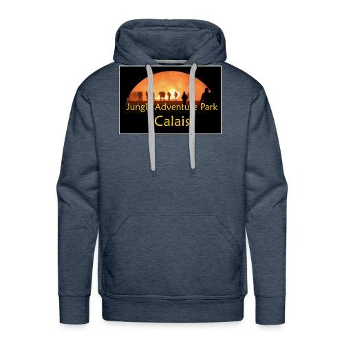 calais jungle - Sweat-shirt à capuche Premium pour hommes