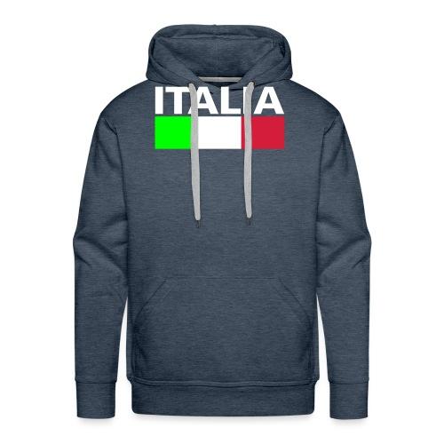 Italia Italy flag - Men's Premium Hoodie