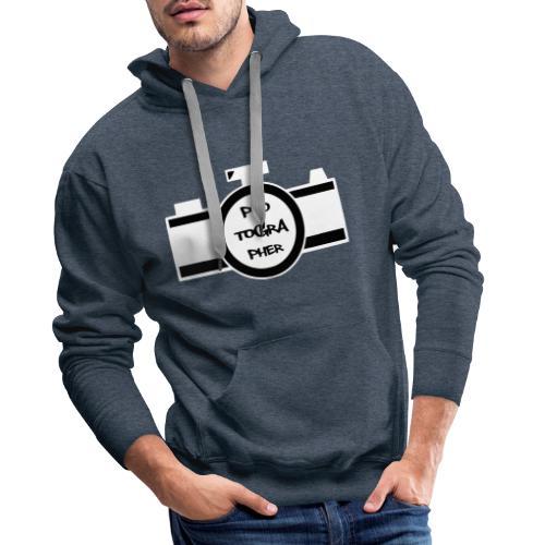 Photographer weiß - Männer Premium Hoodie