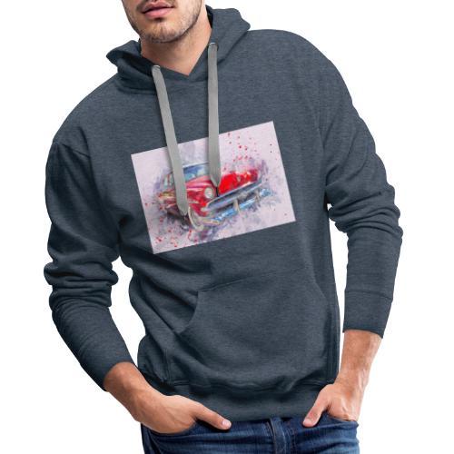 Ein Schönes Retro Auto t-shirt - Männer Premium Hoodie