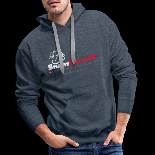SmartBulldoX Logo Tasche www - Männer Premium Hoodie