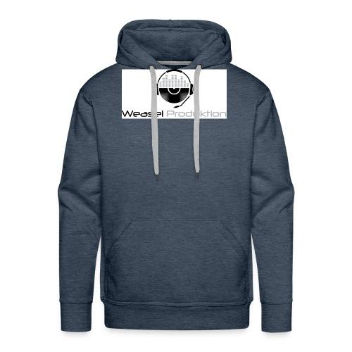 Weasel Produktion - Sweat-shirt à capuche Premium pour hommes