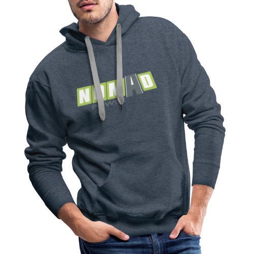 Nomadpower logo zonder wit - Mannen Premium hoodie