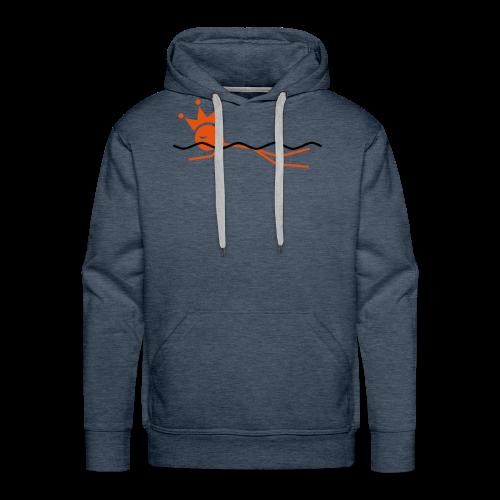 Zwemkoning - Mannen Premium hoodie