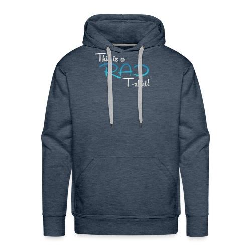 This Is A Rad T-Shirt - Blue - Men's Premium Hoodie