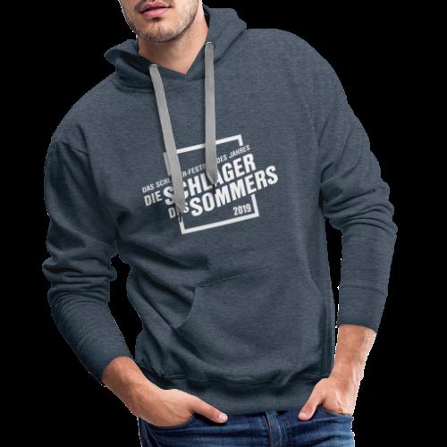 Die Schlager des Sommers 2019 - Festivalshirt - Männer Premium Hoodie