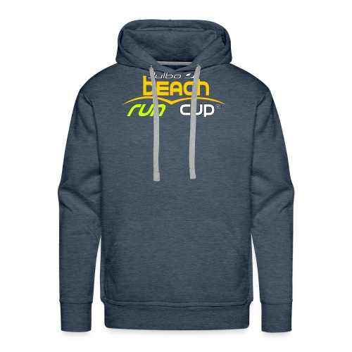 SPREADSHIRT_Atelier_Beach_run_v3_-1- - Sweat-shirt à capuche Premium pour hommes