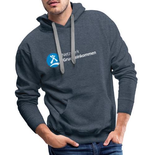 Netzwerk Grundeinkommen - Männer Premium Hoodie