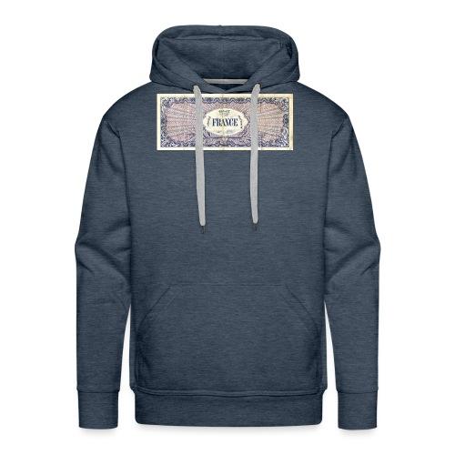 100F - Sweat-shirt à capuche Premium pour hommes