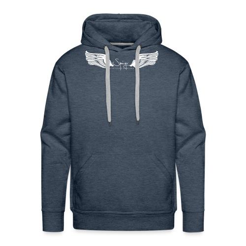 Seraph Wings white - Sweat-shirt à capuche Premium pour hommes