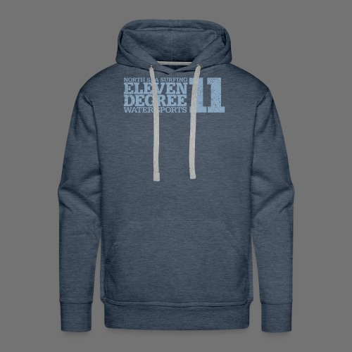 eleven degree light blue (oldstyle) - Men's Premium Hoodie