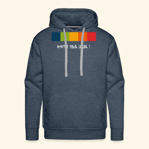 ps color spectrum w - Männer Premium Hoodie