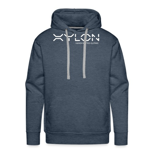 Xylon Handcrafted Guitars (name only logo white) - Men's Premium Hoodie