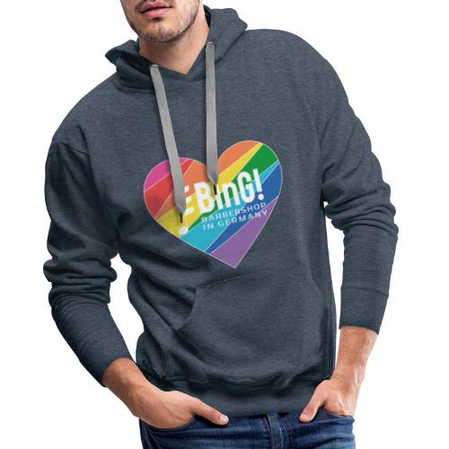 BinG Love Color - Männer Premium Hoodie