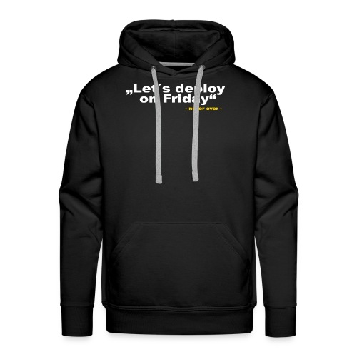 Deploy Friday - Männer Premium Hoodie