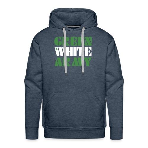 GREEN & WHITE ARMY - Men's Premium Hoodie