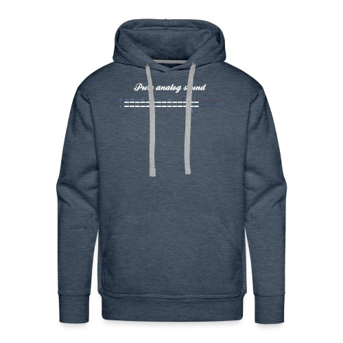 digital VU meters - Men's Premium Hoodie
