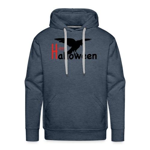 Happy Halloween - Rabe - Männer Premium Hoodie