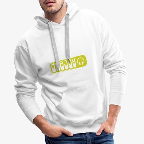 DJ - Sudadera con capucha premium para hombre