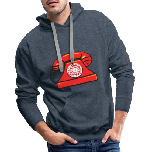 PhoneRED - Men's Premium Hoodie