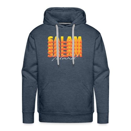 Salam repeat - Sweat-shirt à capuche Premium pour hommes