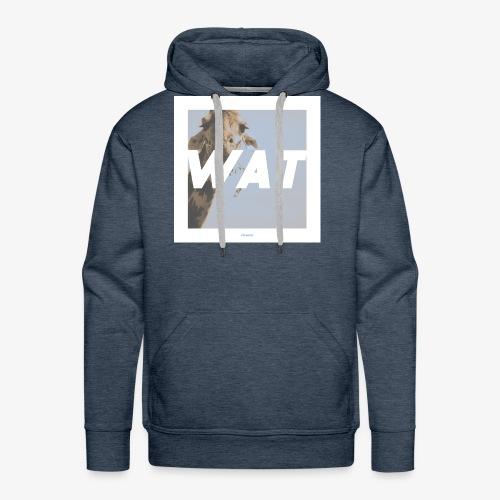 WAT #01 - Männer Premium Hoodie