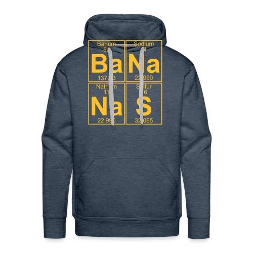 Ba-Na-Na-S (bananas) - Full - Men's Premium Hoodie