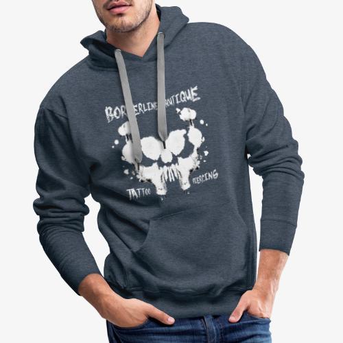 Borderlines Boutique - Tattoo Piercing - Sweat-shirt à capuche Premium pour hommes