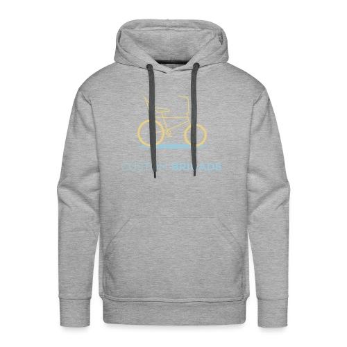 flatvelo - Sweat-shirt à capuche Premium pour hommes