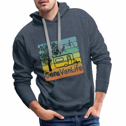 caravan life - Männer Premium Hoodie