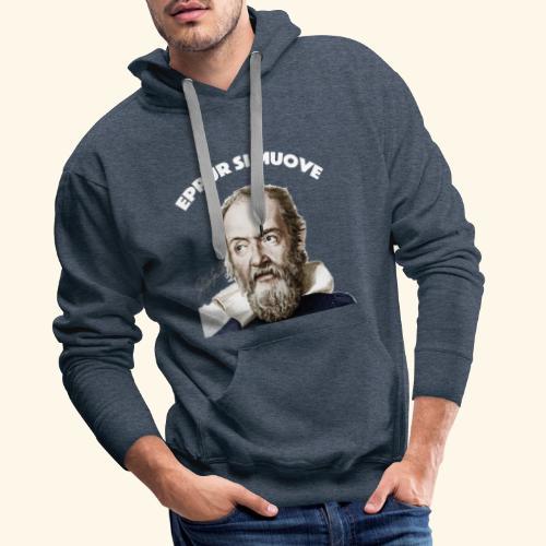 Eppur si Muove - Mannen Premium hoodie