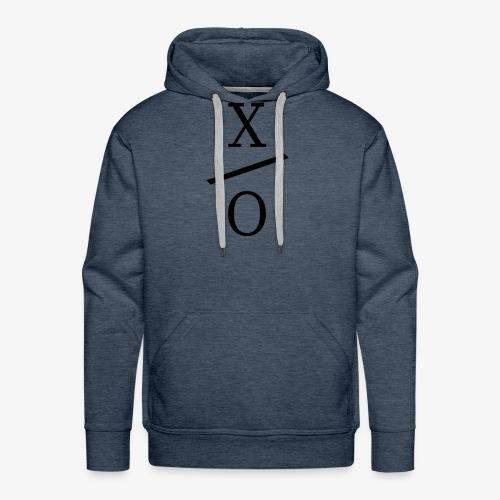 X/0 Logo - Premiumluvtröja herr